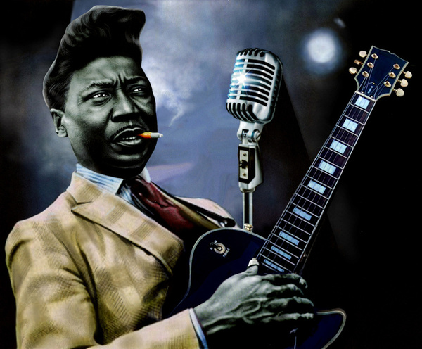muddy waters - chicago electric blues king guitar player