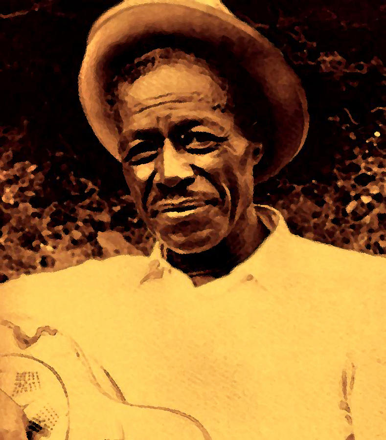 the delta blues slide guitar of son house